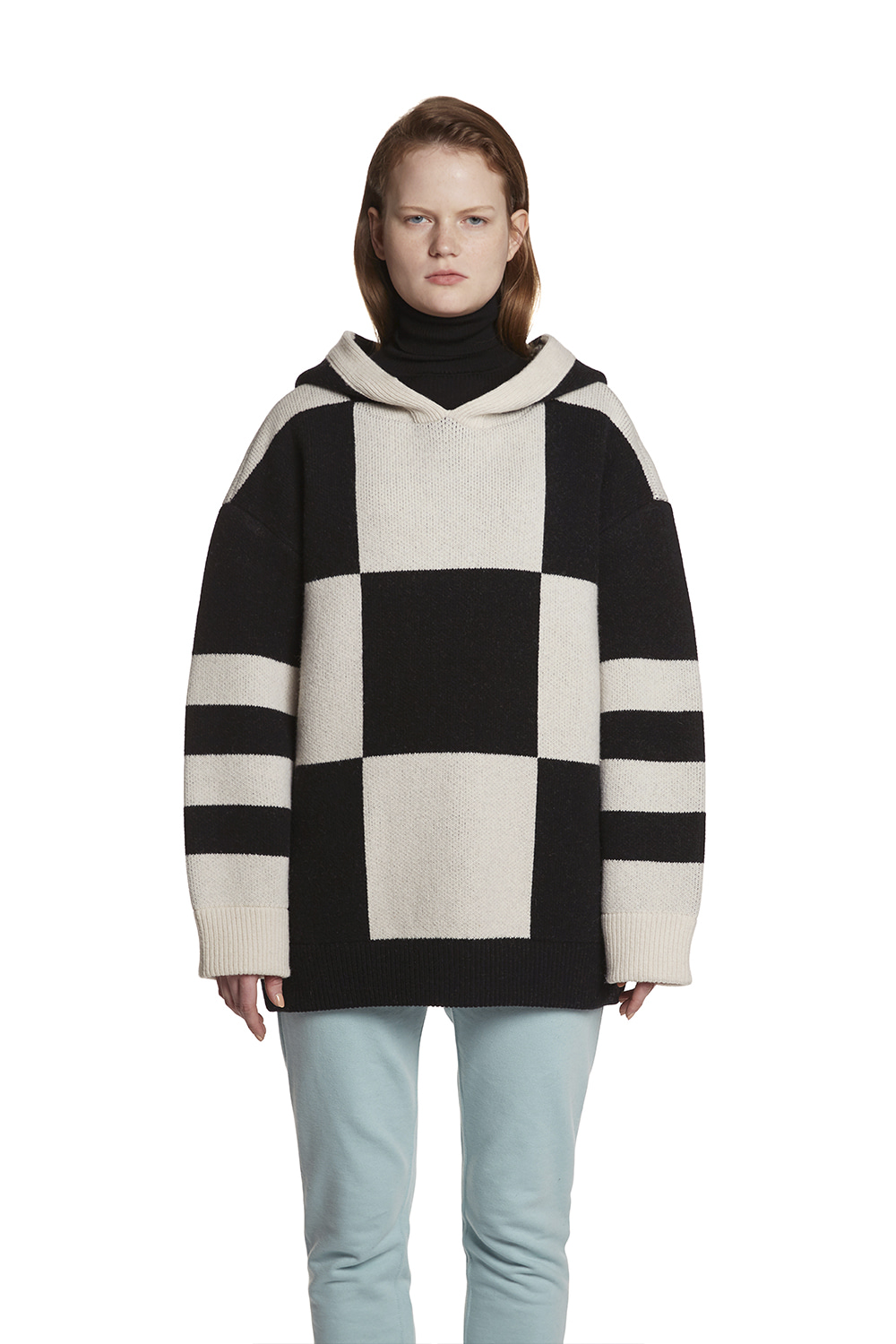 Chess Knit hoodie