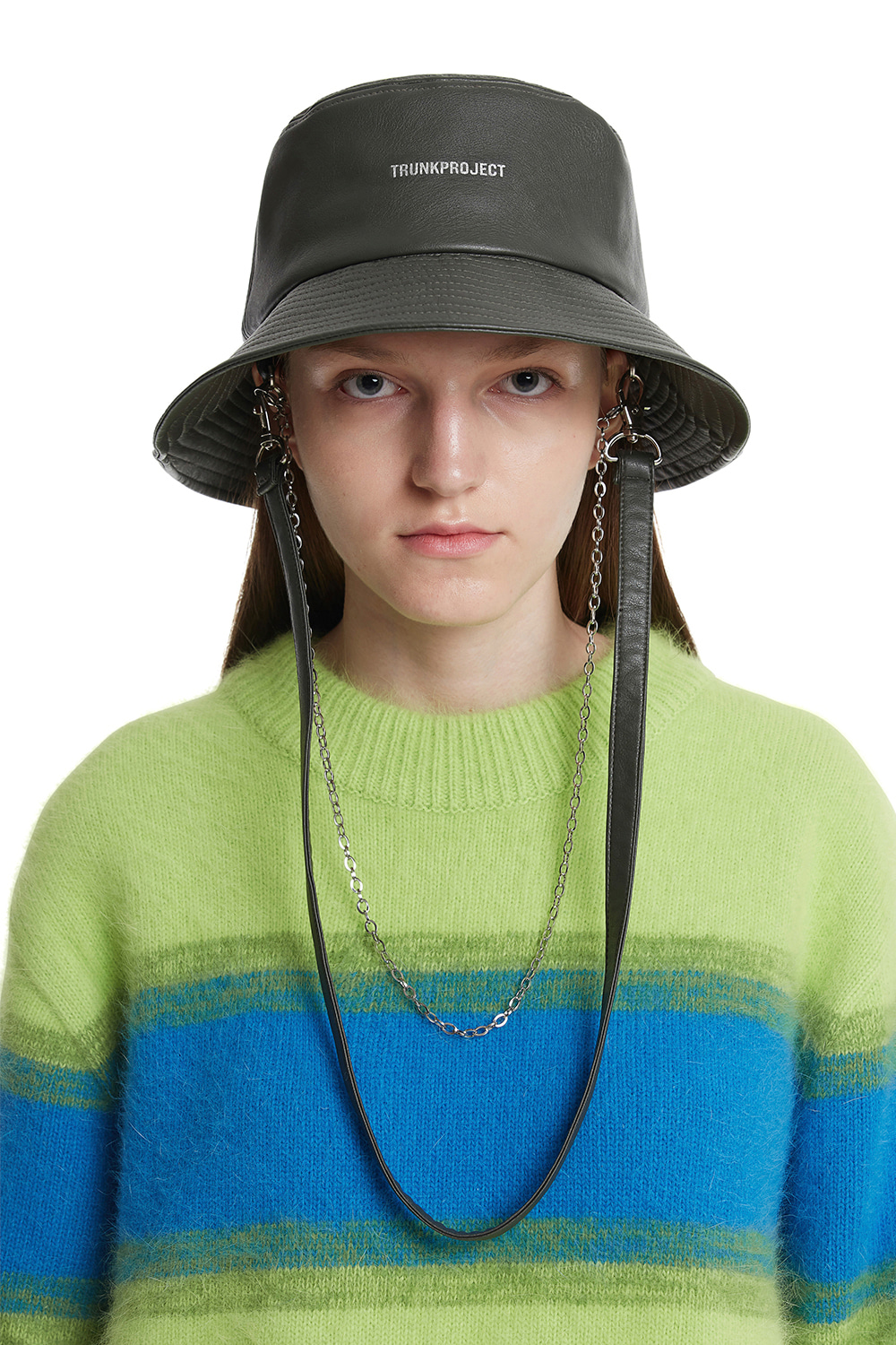 Khaki Two Way Bucket Hat