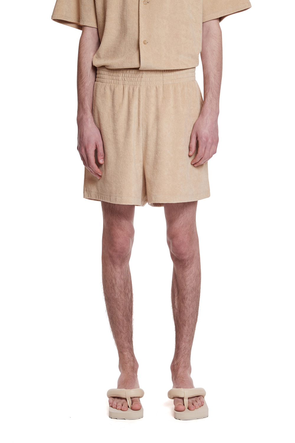 Terry Cotton Short Pant_(For man)