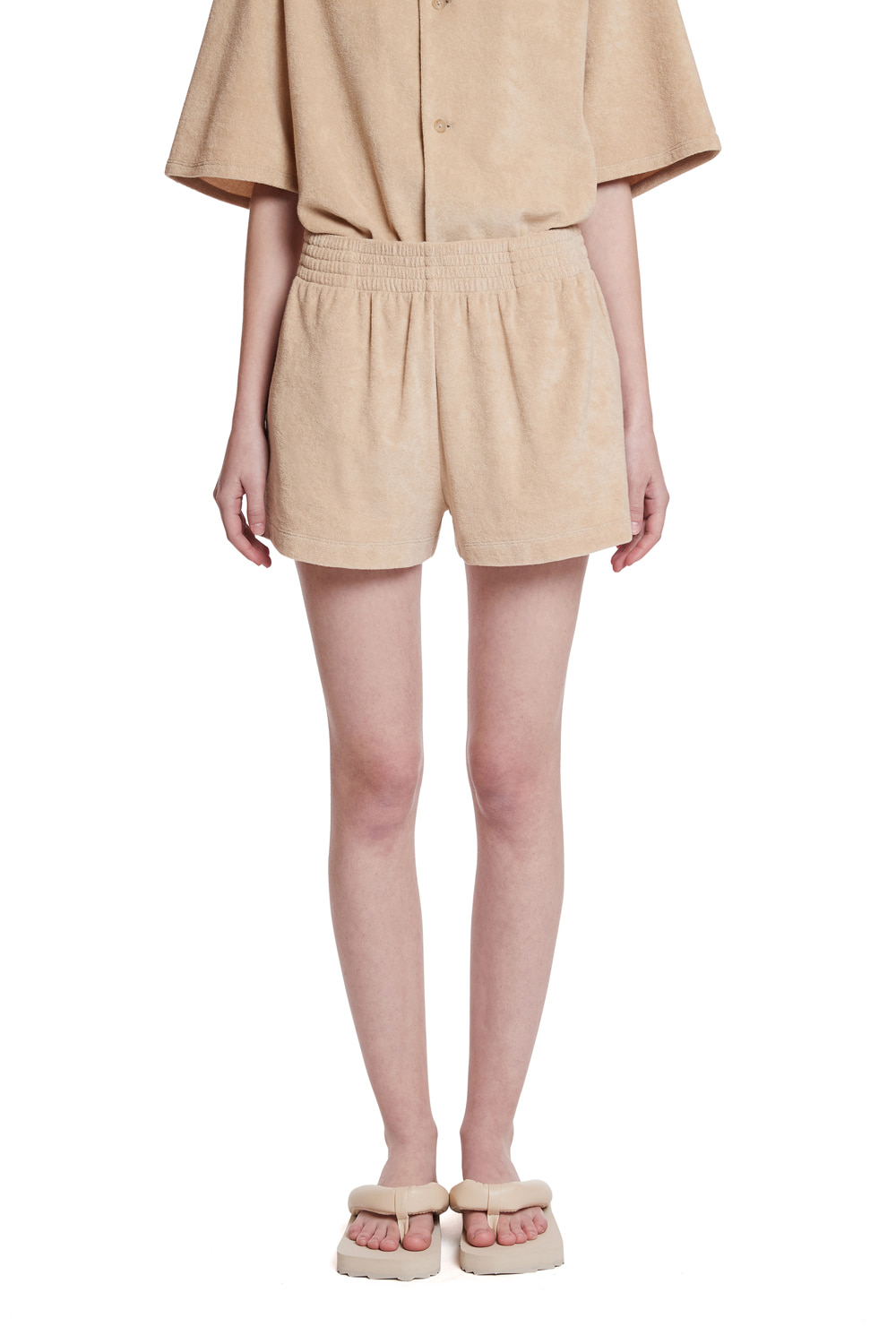 Terry Cotton Short Pant_(For Women)